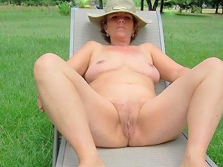 Mature Naked Woman Ss Models Her Birthday Suit Nudity