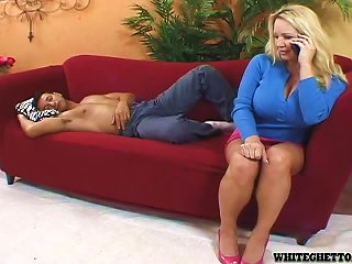 Busty Blonde MILF Rachel Love Rides A Dick And Gets A