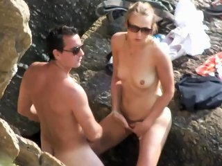 Sur Le Rocher Free Beach Porn Video 3e Xhamster