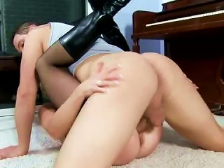 Yummy MILF In Boots Boned