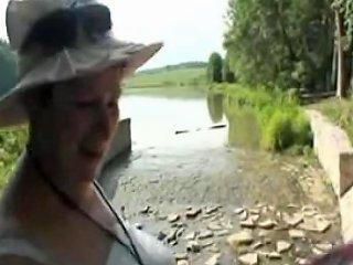 Grandpa Fucks Grandma And A Slut Outdoors Porn Videos